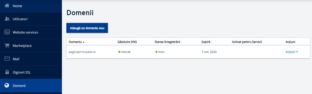 Cum să delegați un domeniu de pe ionos.ro pe alte servere DNS?