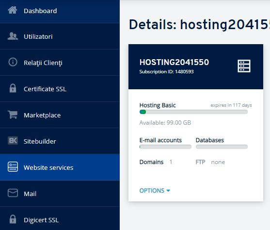 Cum poate fi instalat certificatul SSL pe hosting în ionos.ro?