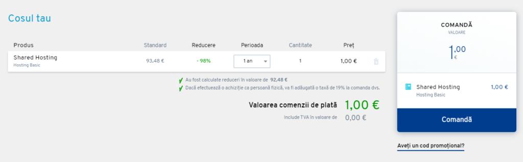 Cum să creați un cont și să deveniți client ionos.ro